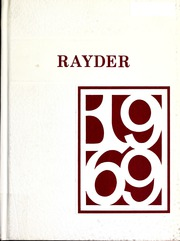 Page 1, 1969 Edition, Charlevoix High School - Rayder Yearbook (Charlevoix, MI) online yearbook collection