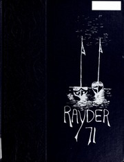 Page 1, 1971 Edition, Charlevoix High School - Rayder Yearbook (Charlevoix, MI) online yearbook collection