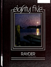 Page 1, 1985 Edition, Charlevoix High School - Rayder Yearbook (Charlevoix, MI) online yearbook collection