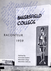 Page 6, 1959 Edition, Bakersfield College - Raconteur Yearbook (Bakersfield, CA) online yearbook collection