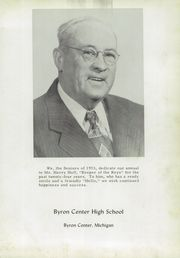 Page 5, 1953 Edition, Byron Center High School - Re Echo Yearbook (Byron Center, MI) online yearbook collection