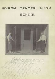 Page 5, 1954 Edition, Byron Center High School - Re Echo Yearbook (Byron Center, MI) online yearbook collection