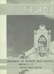 Page 6, 1954 Edition, University of Detroit Jesuit High School - Cub Yearbook (Detroit, MI) online yearbook collection