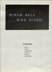 Page 6, 1971 Edition, Byron High School - Echo Yearbook (Byron, MI) online yearbook collection