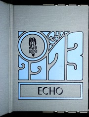 1973 Edition, Byron High School - Echo Yearbook (Byron, MI)