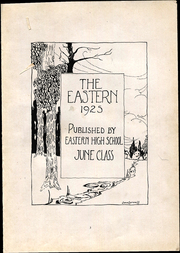 Page 5, 1925 Edition, Eastern High School - Eastern Yearbook (Detroit, MI) online yearbook collection