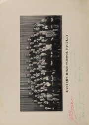 Page 10, 1934 Edition, Eastern High School - Eastern Yearbook (Detroit, MI) online yearbook collection