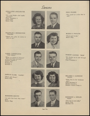 Page 12, 1947 Edition, Clinton High School - Memories Yearbook (Clinton, MI) online yearbook collection