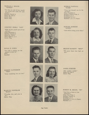 Page 14, 1947 Edition, Clinton High School - Memories Yearbook (Clinton, MI) online yearbook collection