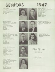 Page 9, 1947 Edition, Union City High School - Maroon and Gray Yearbook (Union City, MI) online yearbook collection