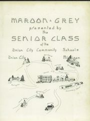 Page 5, 1955 Edition, Union City High School - Maroon and Gray Yearbook (Union City, MI) online yearbook collection