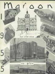 Page 6, 1955 Edition, Union City High School - Maroon and Gray Yearbook (Union City, MI) online yearbook collection