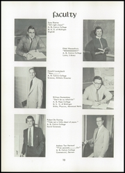 Page 14, 1955 Edition, Unity Christian High School - Silhouette Yearbook (Hudsonville, MI) online yearbook collection