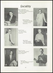 Page 15, 1955 Edition, Unity Christian High School - Silhouette Yearbook (Hudsonville, MI) online yearbook collection