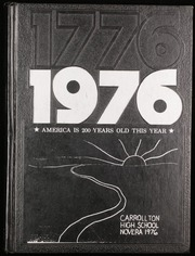 1976 Edition, Carrollton High School - Novera Yearbook (Saginaw, MI)