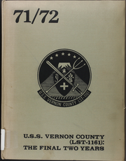 1972 Edition, Vernon County (LST 1161) - Naval Cruise Book