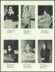 Page 10, 1952 Edition, White Cloud High School - Chieftain Yearbook (White Cloud, MI) online yearbook collection