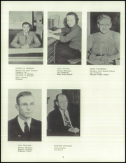 Page 12, 1952 Edition, White Cloud High School - Chieftain Yearbook (White Cloud, MI) online yearbook collection