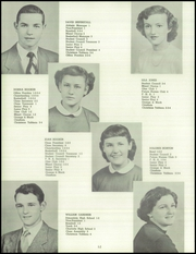 Page 16, 1952 Edition, White Cloud High School - Chieftain Yearbook (White Cloud, MI) online yearbook collection
