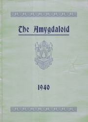 1940 Edition, Houghton High School - Amygdaloid Yearbook (Houghton, MI)