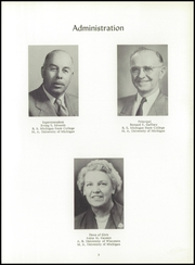 Page 7, 1954 Edition, Houghton High School - Amygdaloid Yearbook (Houghton, MI) online yearbook collection