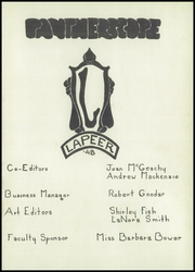 Page 5, 1948 Edition, Lapeer High School - Pantherscope Yearbook (Lapeer, MI) online yearbook collection