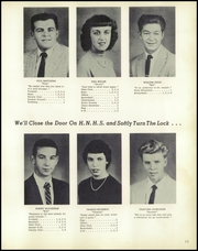 Page 17, 1958 Edition, New Haven High School - Rocket Yearbook (New Haven, MI) online yearbook collection
