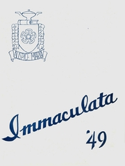 Immaculata High School - Immaculata Yearbook (Detroit, MI) online yearbook collection, 1949 Edition, Page 1