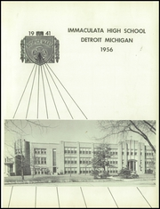 Page 5, 1956 Edition, Immaculata High School - Immaculata Yearbook (Detroit, MI) online yearbook collection