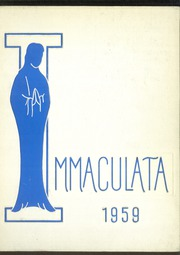 Immaculata High School - Immaculata Yearbook (Detroit, MI) online yearbook collection, 1959 Edition, Page 1
