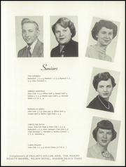 Page 17, 1953 Edition, Harbor Beach High School - Beacon Yearbook (Harbor Beach, MI) online yearbook collection