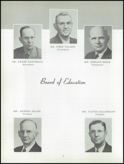 Page 6, 1954 Edition, Homer High School - Trojan Yearbook (Homer, MI) online yearbook collection