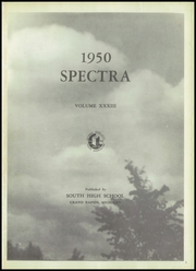 Page 5, 1950 Edition, South High School - Spectra Yearbook (Grand Rapids, MI) online yearbook collection