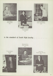 Page 17, 1951 Edition, South High School - Spectra Yearbook (Grand Rapids, MI) online yearbook collection
