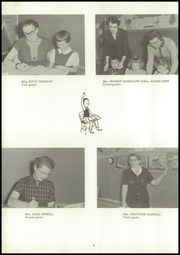Page 10, 1958 Edition, Reese High School - Rocket Yearbook (Reese, MI) online yearbook collection