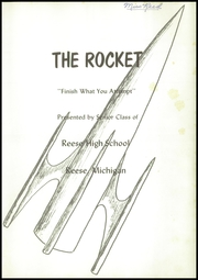 Page 5, 1958 Edition, Reese High School - Rocket Yearbook (Reese, MI) online yearbook collection
