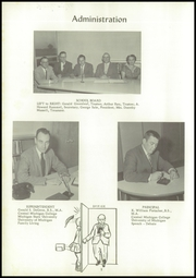 Page 6, 1958 Edition, Reese High School - Rocket Yearbook (Reese, MI) online yearbook collection
