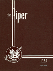 Page 1, 1957 Edition, Birmingham High School - Piper Yearbook (Birmingham, MI) online yearbook collection