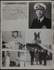 Page 10, 1982 Edition, Virginia (CGN 38) - Naval Cruise Book online yearbook collection