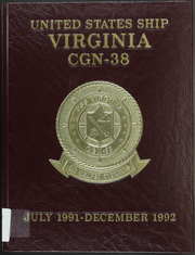 1992 Edition, Virginia (CGN 38) - Naval Cruise Book