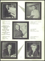 Page 13, 1957 Edition, Summerfield High School - Trails End Yearbook (Petersburg, MI) online yearbook collection