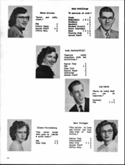 Page 15, 1953 Edition, Deckerville High School - Per Annos Yearbook (Deckerville, MI) online yearbook collection