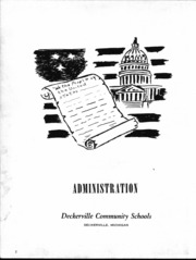 Page 3, 1953 Edition, Deckerville High School - Per Annos Yearbook (Deckerville, MI) online yearbook collection