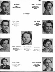 Page 7, 1953 Edition, Deckerville High School - Per Annos Yearbook (Deckerville, MI) online yearbook collection