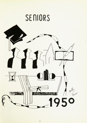 Page 7, 1950 Edition, Marcellus High School - Wildcats Yearbook (Marcellus, MI) online yearbook collection