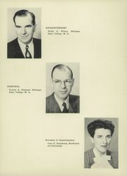 Page 10, 1952 Edition, Harbor Springs High School - Rampage Yearbook (Harbor Springs, MI) online yearbook collection