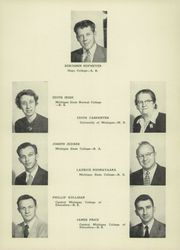 Page 12, 1952 Edition, Harbor Springs High School - Rampage Yearbook (Harbor Springs, MI) online yearbook collection