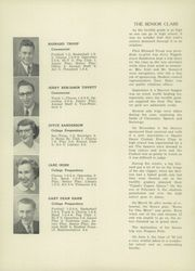 Page 16, 1952 Edition, Harbor Springs High School - Rampage Yearbook (Harbor Springs, MI) online yearbook collection