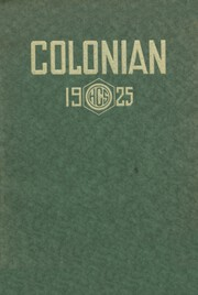 Colon High School - Magi Yearbook (Colon, MI) online yearbook collection, 1925 Edition, Page 1