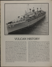 Page 6, 1986 Edition, Vulcan (AR 5) - Naval Cruise Book online yearbook collection